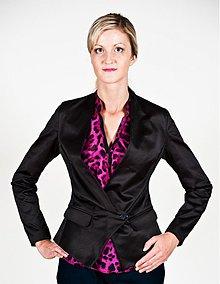 Kabáty - Sakový kabátik asymetrického strihu z bavlny rôzne farby - 2568418