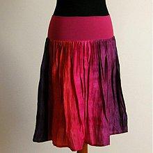 Sukne - MEXICO...krátká hedvábná sukně - 2570161