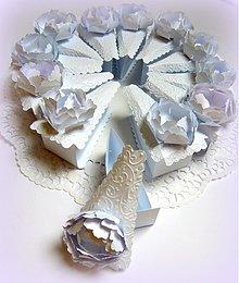 Darčeky pre svadobčanov - Pivónky pre nevestičku... - 2575048