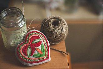 Darčeky pre svadobčanov - Levanduľové srdiečko 9 - 2577068