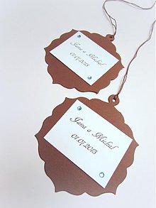 Darčeky pre svadobčanov - Darčekové kartičky I. - 2577845