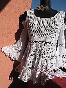 """Šaty - Model """"Kristin"""" - háčkované tunikošaty - 2582779"""