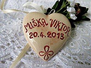Dekorácie - Svadobné srdiečka - 2586463