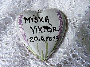 Dekorácie - Svadobné srdiečka - 2586470
