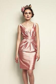 Šaty - Šaty pre družičku (ružové) - 2591578