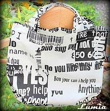 Detské tašky - taštička do školky - 2596027