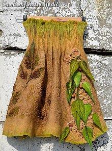 Sukne - Plstená sukňa Inspired by nature - 2597168