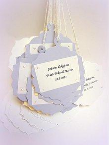 Dekorácie - Na svadobné vínečko... - 2598210