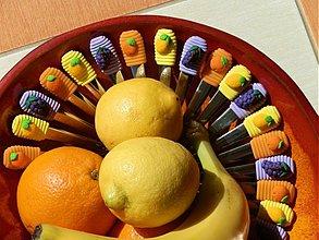 Pomôcky - Lyžičky s ovocím - 2600641