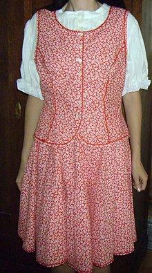 Iné oblečenie - dámsky ľudový kroj - 2609654