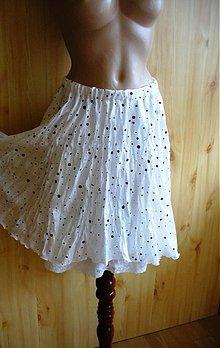 Sukne - hodvábna so spodničkou -50% - 2613399