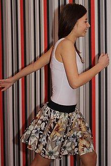 Sukne - Riasená sukňa \