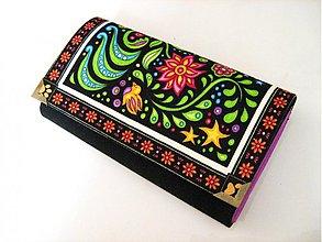 Peňaženky - V rajské zahradě - na karty 16 cm - 2621819