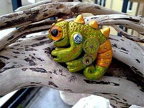 Odznaky/Brošne - Chameleón - 2626887