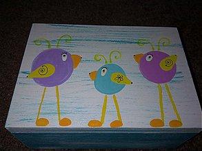 Krabičky - vtáčiková - 2627307