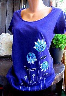 Tričká - Violet Blue Garden - M - 2628023