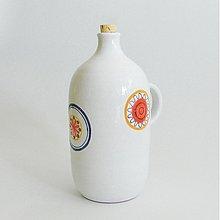 Nádoby - fľaša kvet - 2631302