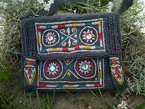 Veľké tašky - Sivá ETNO taška - 2644124