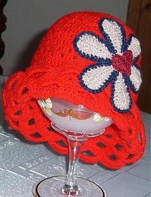 Detské čiapky - Cerveny vhodny aj k next svetriku - 2645565