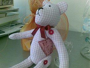 Bábiky - namyslený medvedík - 264603