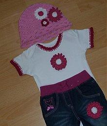 Detské oblečenie - s margaretkou - 2646395