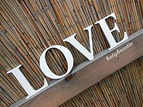 Tabuľky - LOVE nápis - 2649923