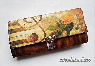 Peňaženky - Harmonika velká - 8 karet - 2661739