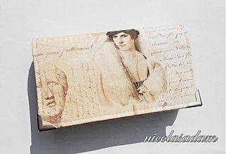 Peňaženky - Harmonika střední - 15x10cm dvě měny DOSTUPNÁ IHNED - 2661795