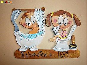 Tabuľky - Menovka WC a kúpeľňa - 2661902