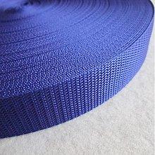 Galantéria - Popruh POP 30 mm stredne modrý - 2665552