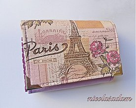 Peňaženky - Harmonika malá - 4-8 karet na dvě měny - 2666172
