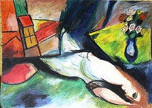 Kresby - zátišie s obrazom - 2666430