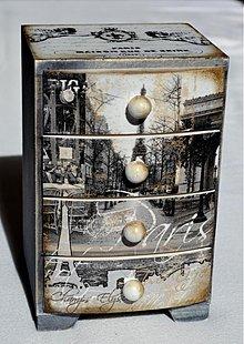 Krabičky - Šperkovnica Paris - 2669968