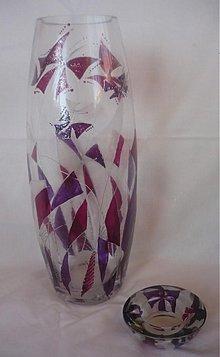 Dekorácie - Váza Motýle - 2670872