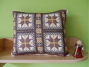 Úžitkový textil - vankúš  (mozaika) - 2671471