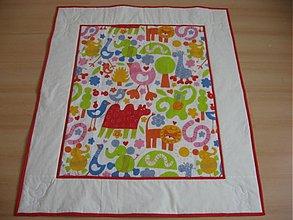 Textil - Detské deky zo vzorových látok - na objednávku  - 267178