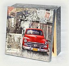 Krabičky - Červený veterán - 2673450