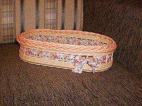Košíky - Ružovučký oválny... - 2675998