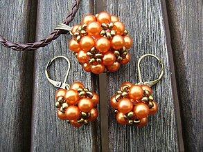 Sady šperkov - Sada ORANŽOVÉ LETO - 2676896