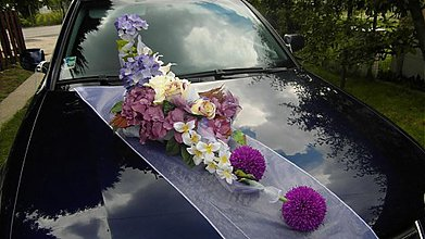 Kytice pre nevestu - Luxusna svadobna vyzdoba - 2679403