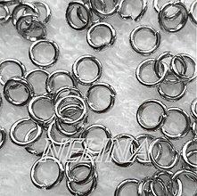 Komponenty - Spoj.krúžok 5x1mm-platina-10ks - 2679768