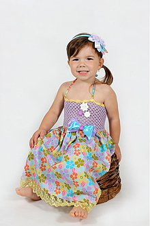 Detské oblečenie - Kvetinové šatočky - 2680153