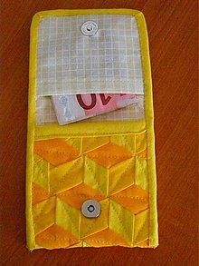 Peňaženky - Patchworková peňaženka - 268031