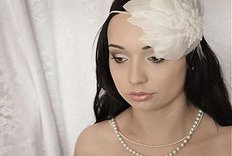 Ozdoby do vlasov - Svadobná ozdoba do vlasov