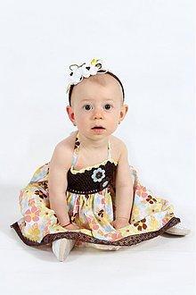 Detské oblečenie - Kvetované šatičky - 2687631