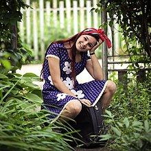 Šaty - Origo šaty kvety - 2688184