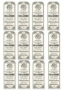 Papier - Lavender Labels nažehlovacie  - 2688276