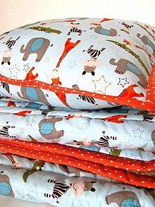 Textil - Súprava-dečka,vankúšik - 2693469