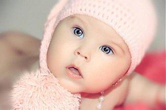 Detské čiapky - jednoducho krása - 2694035