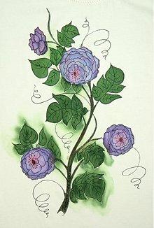 Tričká - Vintage roses - 2695391